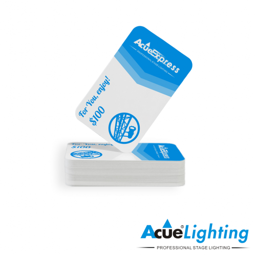 Stage Lighting Equipment Gift Cards